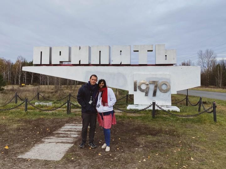 Pripyat entrance